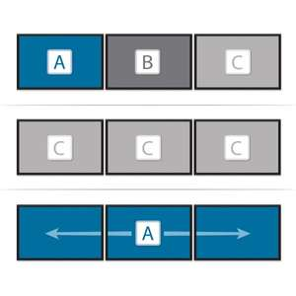 [WHD] MDP 1.2 auf 3 DP (zb Surface 3 Pro 4 Bildschirme !) MiniDisplay Port