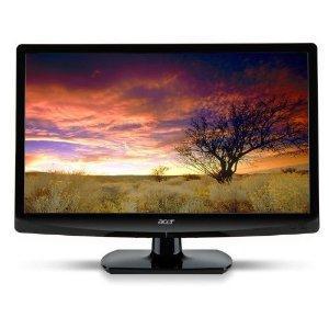 Acer AT1926D 47 cm (18,5 Zoll) Slim LED-Backlight-Fernseher (HD-Ready, DVB-T, HDMI, VGA) hochglanzschwarz