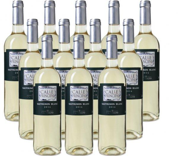 12 Flaschen Weißwein Calle Principal Sauvignon Blanc für 35€ nur heute [Weinvorteil.de]