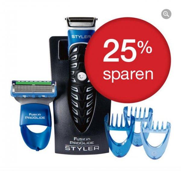 Gillette Fusion ProGlide Styler 3-in-1 (Rasieren, Trimmen, Konturieren) für 12,99€ @P&G