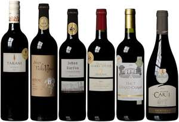 Prämierte Rotweine aus Frankreich zum Schnäppchenpreis