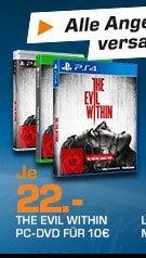 [Saturn Late Night] The Evil Within für PS4,Xbox One und PS3 für je 22,-€ Versandkostenfrei