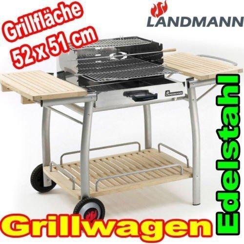 (lokal) Landmann Holzkohle Grillwagen 11413; 77,--€