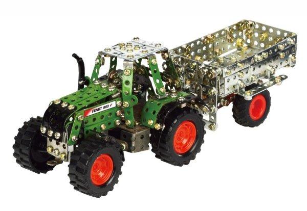 [Amazon-Prime] Tronico Toys - Metallbaukasten - es gibt 5 Traktoren mit Kippanhänger zur Auswahl, ferngesteuert, Maßstab 1:64