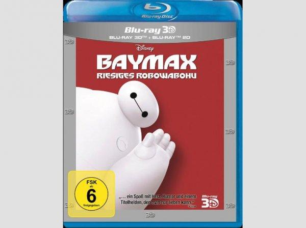 (Mediamarkt/Amazon) Baymax: Riesiges Robowabohu 3D Blu-Ray für 23,- EUR (Blu-Ray: 14,90 EUR / DVD: 12,90 EUR)