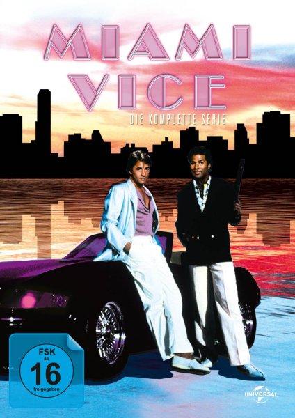 Miami Vice - Die komplette Serie [DVD] für 29€ @Media Markt