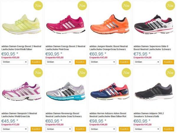 Adidas Laufschuhe bis zu 60% reduziert, ab 60€ Versandkostenfrei [mandmdirect]