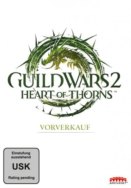 [Guild Wars 2] - Heart of Thorns Vorverkaufsbox für PC 39,99€ inkl. Versand + Prämie (T-Shirt, etc.) @ 4u2play.de