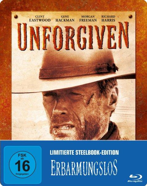 (Amazon Prime) Erbarmungslos - Steelbook [Blu-ray] für 11,97 EUR