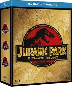 Jurassic Park Trilogy (Includes UltraViolet Copy) 3 x Blu-ray für €13.69 @ Zavvi