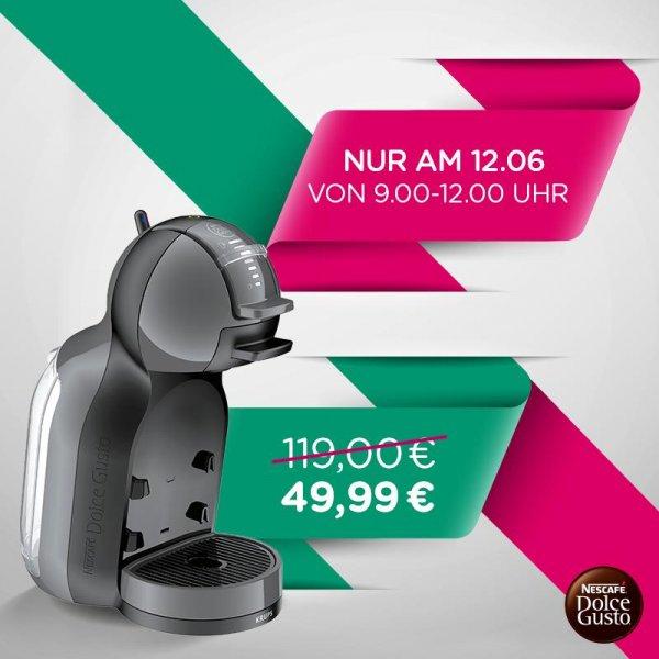 Dolce Gusto Mini Me Kapselmaschine (Automatik) nur am 12.6 (9-12 Uhr) im Dolce Gusto Shop für 49,99€