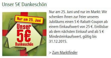 5 € Gutschein bei Fressnapf (MEK 25 €)