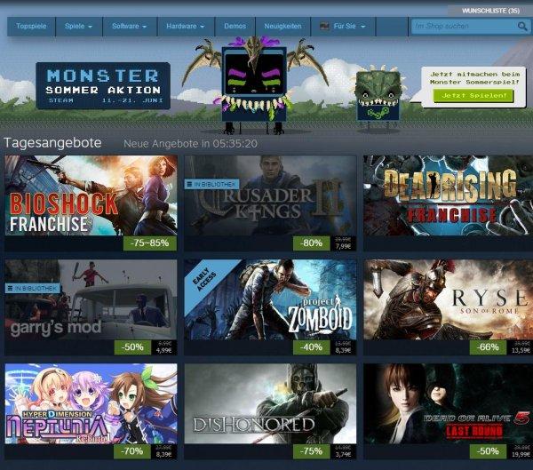Steam summer sale Tagesangebote (Sammelthread) - viele Spiele drastisch reduziert! -96% und mehr @Steam