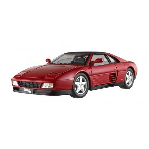Hot Wheels Elite X5480-DL1D - Sammlermodell Ferrari 348 TS, rot