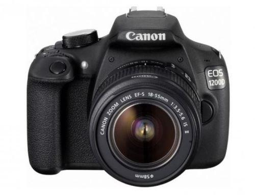 (ebay) Canon EOS 1200D Kit 18-55mm 1:3,5-5,6 IS II Digitale SLR Kamera für 299,- EUR