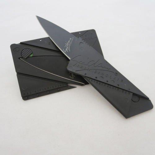 Ab 53 Cent (gratis Lieferung)! Kreditkarten-Faltmesser! Nachbau des Iain Sinclair CardSharp 2