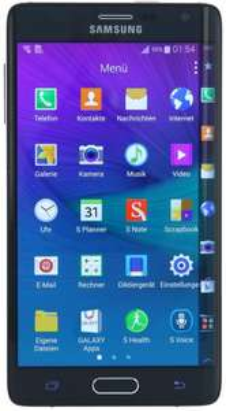 Samsung Galaxy Note Edge für 479,-€ bei Refurbhändler asgoodasnew in Schwarz und Weiß