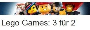 Amazon: Lego Games: 3 für 2