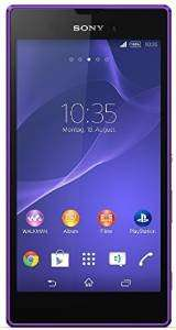 [Amazon Marketplace] Sony Xperia T3 Style LTE (5,3'' HD Triluminos, 1,4G Hz Quadcore Snapdragon 400, 1 GB RAM, NFC) in violett für 149,96