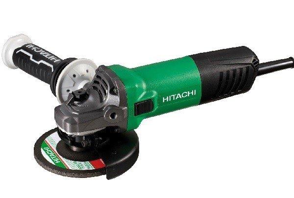 Hitachi Winkelschleifer Set 1200 G13SW incl. Turboflansch + 4 Diamant-Trennscheiben