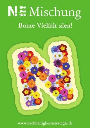 Zeichen säeN! - Baden-Württemberg blüht auf - Kostenlose Blumensamenmischung / Kochbuch