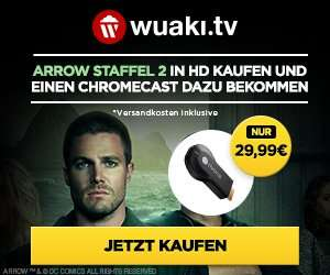 Google Chromecast + inkl. Arrow Staffel 2 oder Greys Anatomy Staffel 9 29,99€