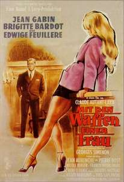 ARTE: MIT DEN WAFFEN EINER FRAU (Brigitte Bardot/Jean Gabin)