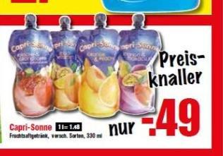 Krümet Capri Sonne, Milram Käse, Pommes, Weight Watchers Fertiggericht ab 17.06