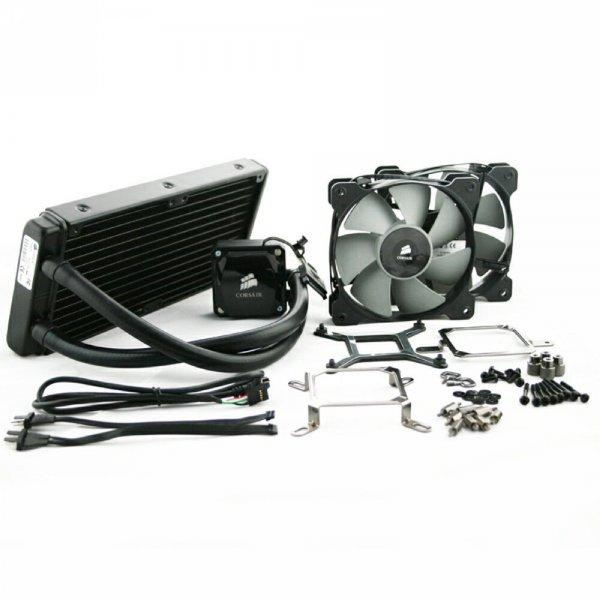 AMAZON Corsair Hydro Series H100i 240mm Extreme Performance CPU Wasserkühler (CW-9060009-WW)