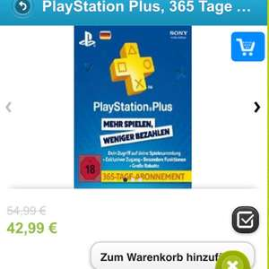 Ps plus 365 Tage Account