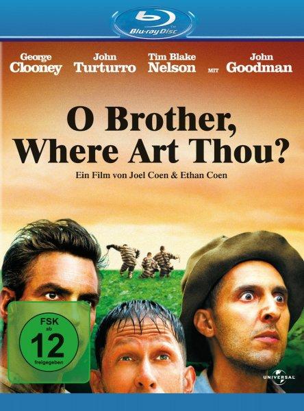 """[Amazon Prime] """"O Brother - where art thou?"""" von Joel & Ethan Coen (Bluray) für 5,99€"""