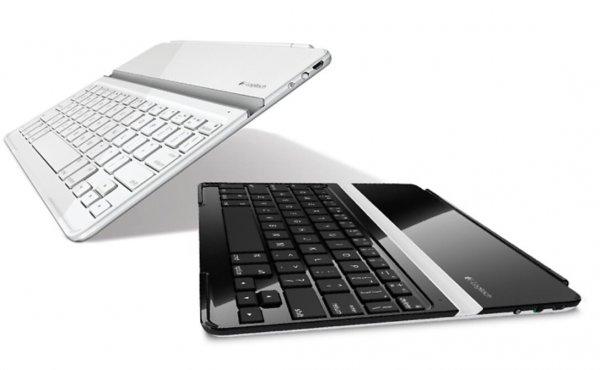 Groupon: Logitech iPad Cover mit Bluetooth Tastatur für 32,98 Ipad 2/3/4 beide Farben