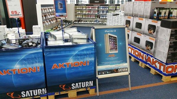 Ipad Air 2 64 GB Wifi für 499 bei Saturn am Kudamm