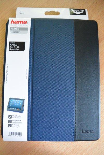 [EUROSHOP] Hama Portfolio Flipcase für APPLE iPad 2-4 verschiedene Farben für 1 €
