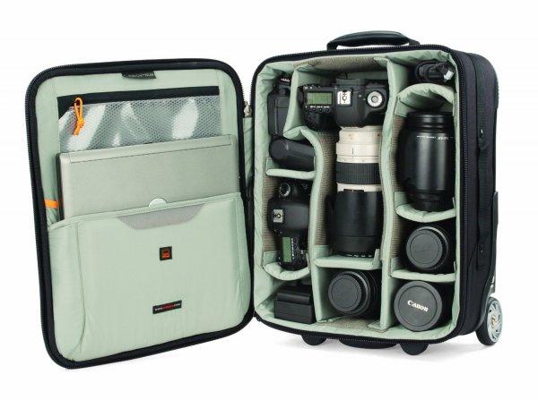 [Amazon Spanien] Foto Koffer / Rollkoffer Lowepro Pro Roller Lite 150 AW LP36398 für 113,32€ inkl. Versand