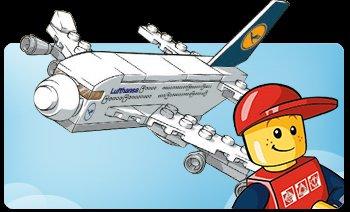 Lego A380 Modell Lufthansa , lokal in Frankfurt bzw. München sowie im Flugzeug, Exclusiv für Jetfriends-Mitglieder (für Kinder kostenloses Programm der LH)