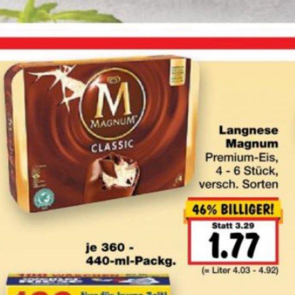 Langnese Magnum verschiedene Sorten [Lokal/Solingen/Kaufland]