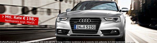 [Rellingen]Audi A5 sportback gewerb. leasing 198€ p/M