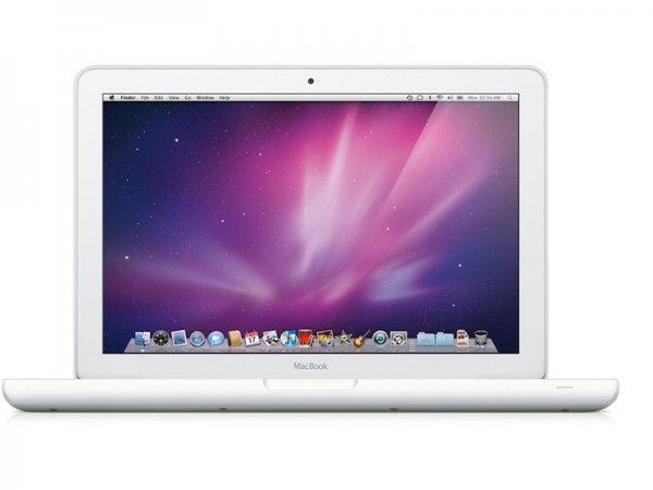 """Apple MacBook 13"""" Weiß UniBody 2.4  Ghz Mid2010 {Refurbished}"""