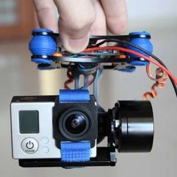 2D Gimbal für Quadcopter und co. inkl. allem