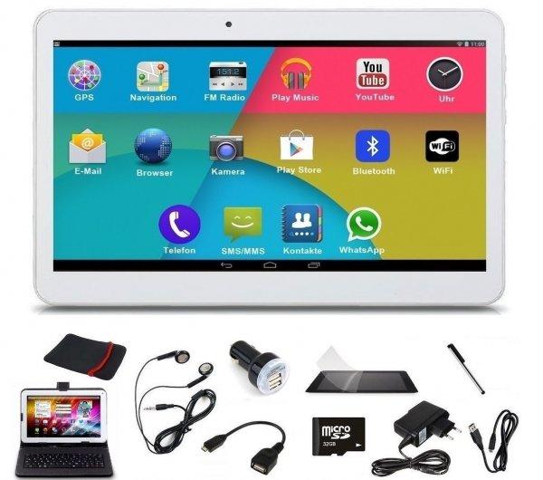 [ebay] Tablet PC 10,1 Zoll, 3G/GPS, Telefon, Quad Core 1,5 GHz, Dual SIM, Bluetooth, umfangreiches Zubehör ab 107,90 € inkl. Versand aus Deutschland v. deutschem Händler