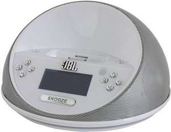 [Redcoon HotDeal] JBL On Time Micro Tragbares Lautsprecher-System für iPod iPhone Aluminium Radio Wecker für 29,99€ Versandkostenfrei