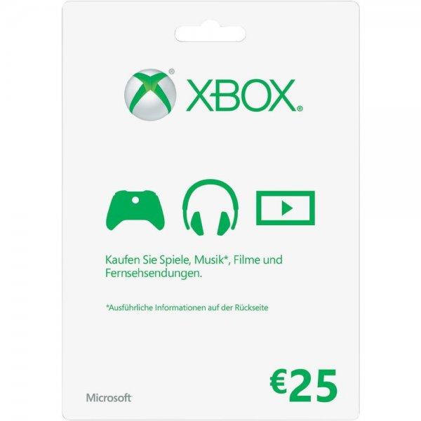 [Conrad] Xbox Live 25€ Guthaben-Karte für 19,45€ + 10fache Paybackpunkte = effektiv: 17,51€