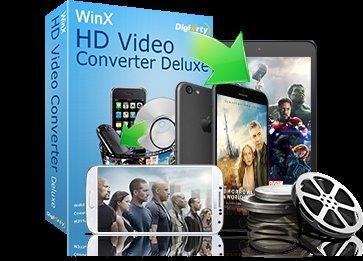 WinX HD Video Converter Deluxe Software