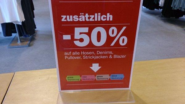 [Lokal Bremen] 50 % auf viele Klamotten beim Zero Factory Store Bremen