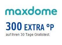 [Payback/Maxdome] 30 Tage Maxdome kostenlos testen und 300 Punkte (3€) erhalten