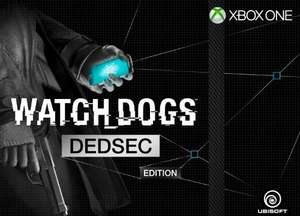 @Amazon.fr:   Watch Dogs - DEDSEC Edition für PS4, PS3, Xbox One, Xbox360 ab ca. 32,20€