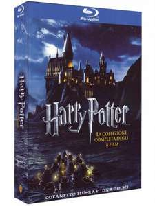 Harry Potter [Blu-ray]  Komplettbox inkl. Vsk für 20,46 € > [amazon.it]