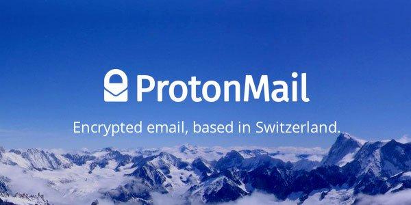 kostenloses verschlüsseltes 1 GB Postfach bei ProtonMail
