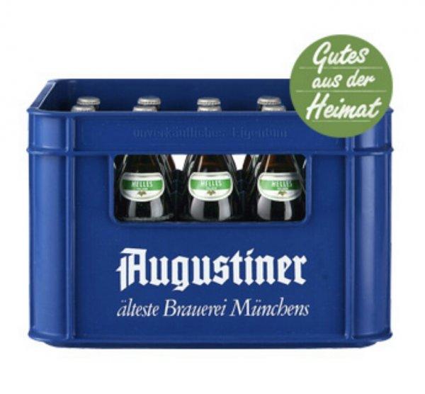 [real,- lokal München?] Kasten Augustiner Helles